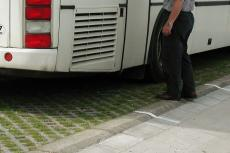 Grassing pavement